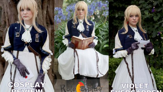 Cosplay Review: Violet Evergarden from Rolecosplay