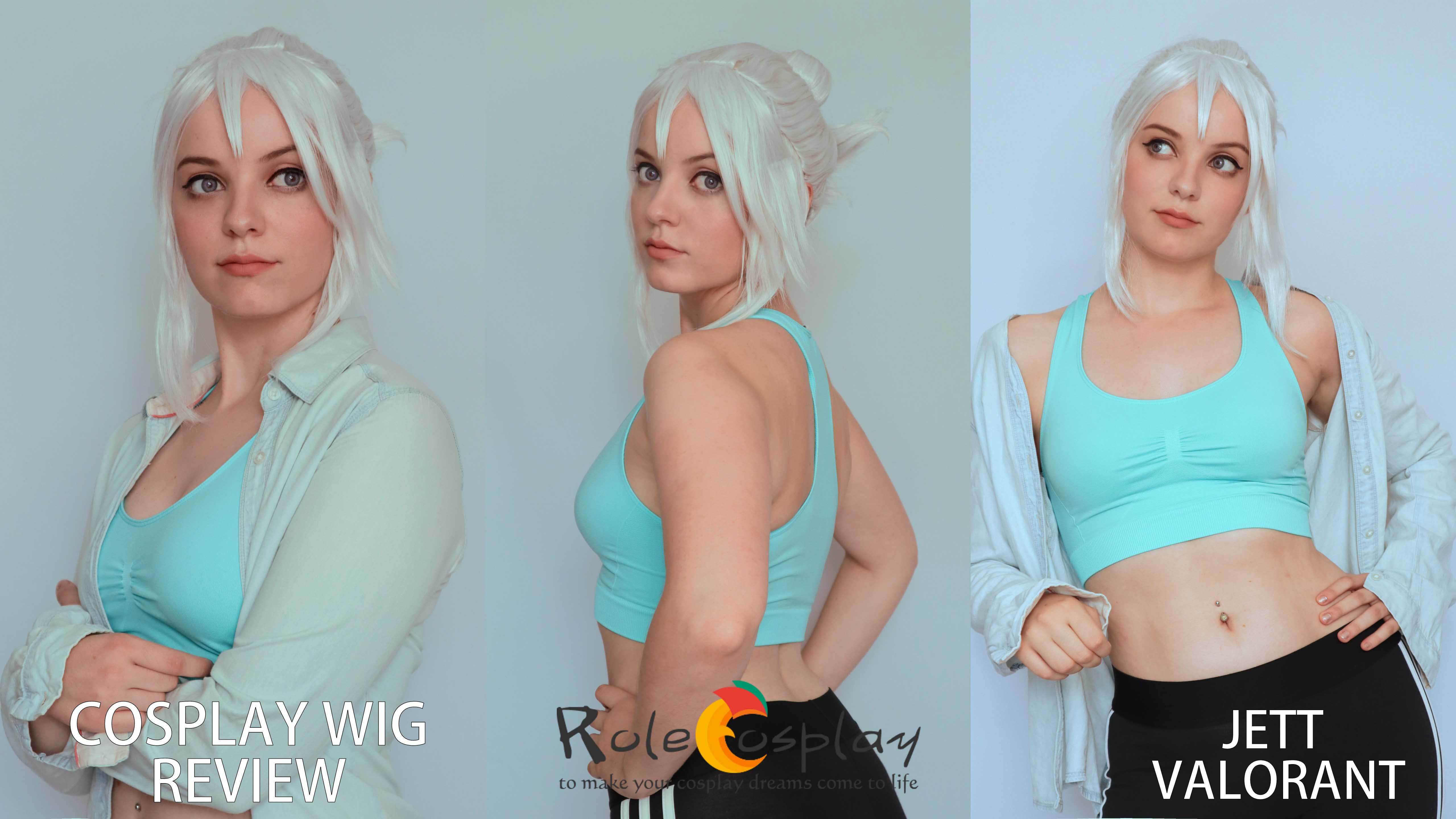Cosplay Wig review: Jett (Valorant) from Rolecosplay