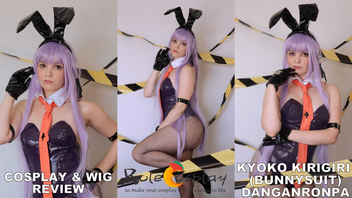 Cosplay & Wig Review: Kyoko Kirigiri Bunnysuit (Danganronpa) from Rolecosplay