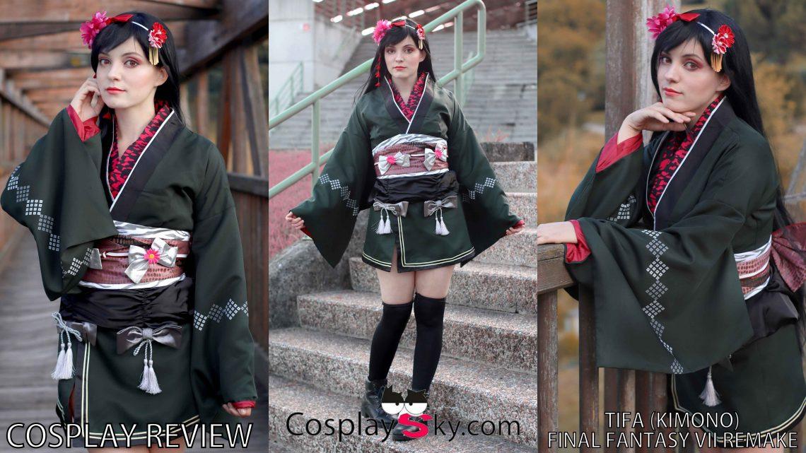 Cosplay Review: Tifa Kimono version (Final Fantasy VII) from Cosplaysky