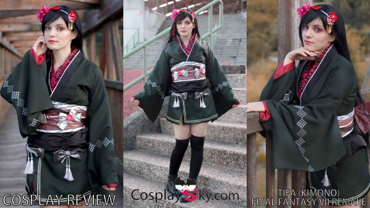 Cosplay Review: Tifa Kimono version (Final Fantasy VII) from Cosplaysky