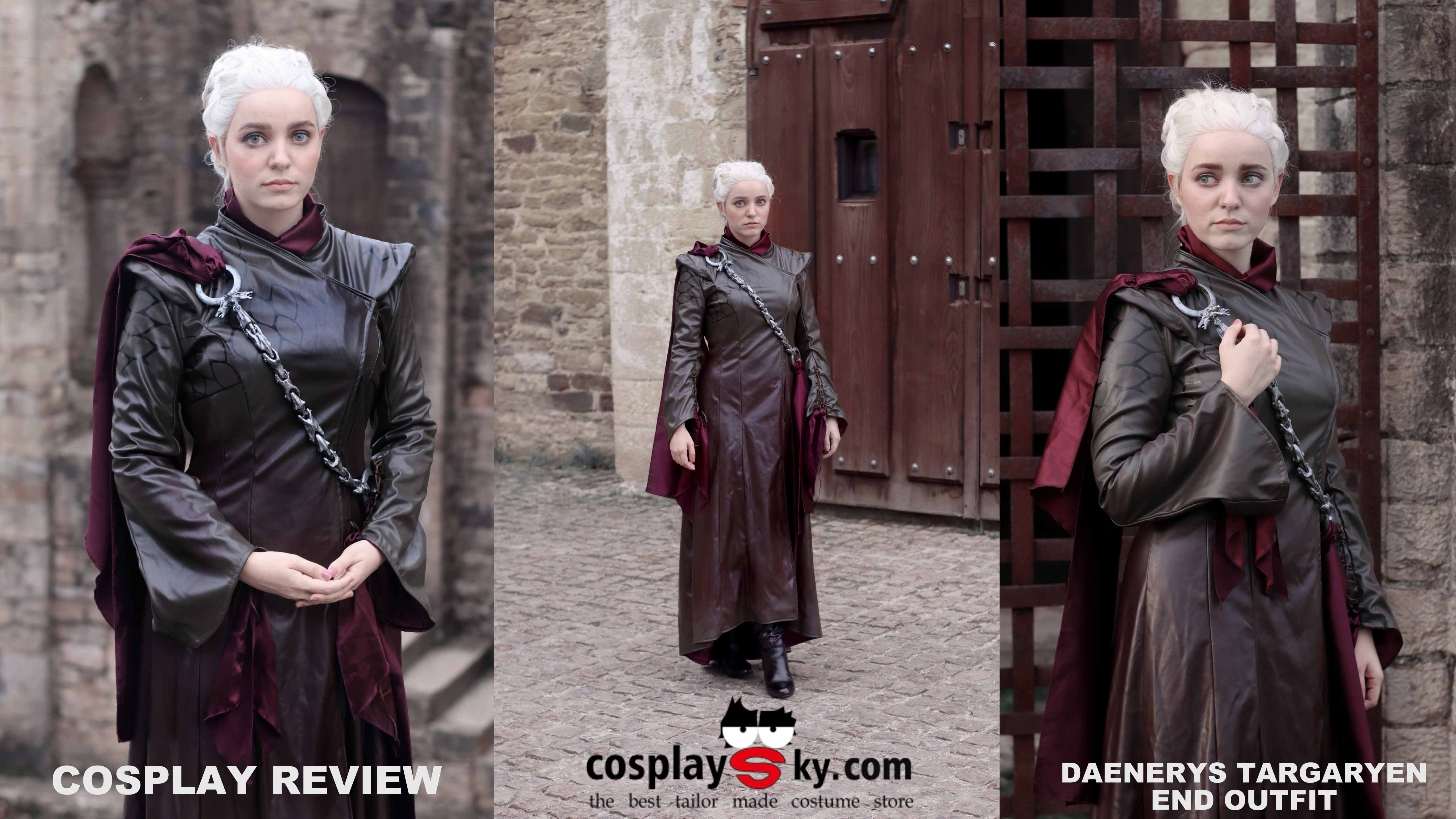 Cosplay Review: Daenerys Targaryen last outfit from Cosplaysky
