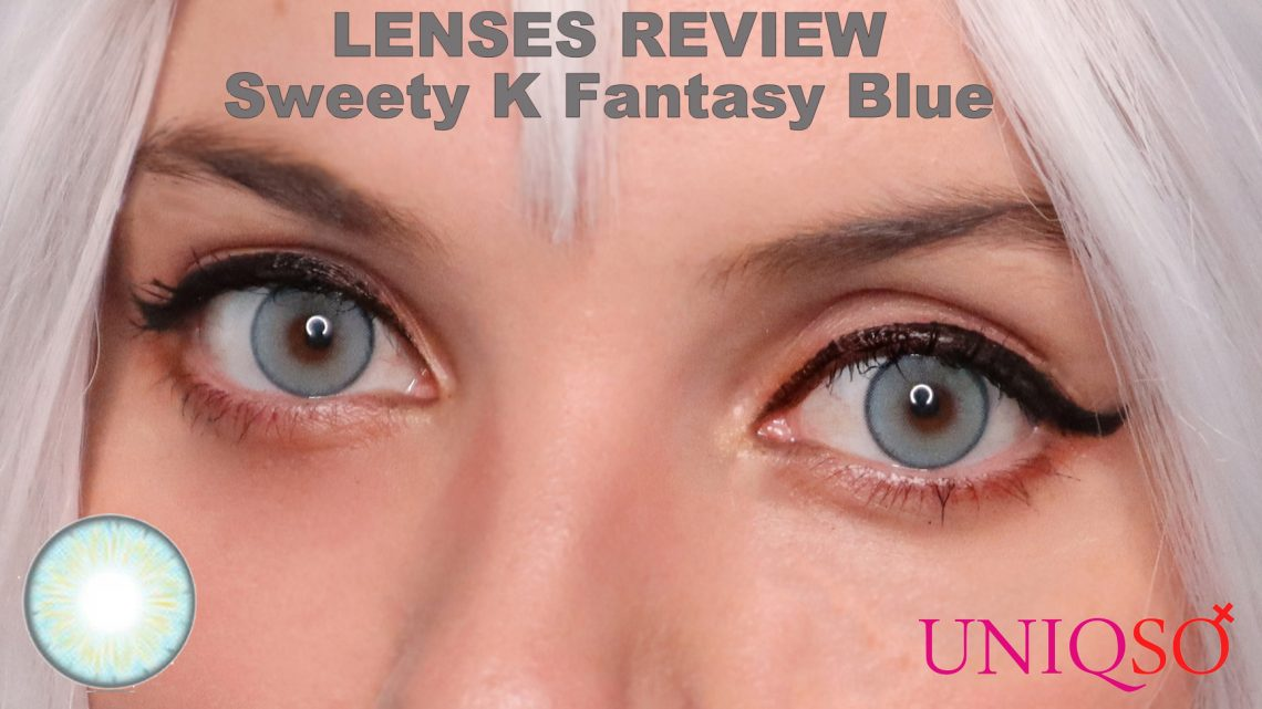 Lenses Review: Sweety K Fantasy Blue from Uniqso