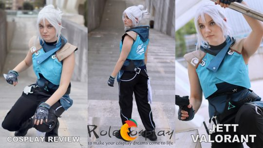 Cosplay Review: Jett (Valorant) from Rolecosplay
