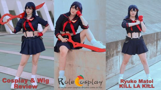 Cosplay & Wig review: Ryuko Matoi (Kill la Kill) from Rolecosplay