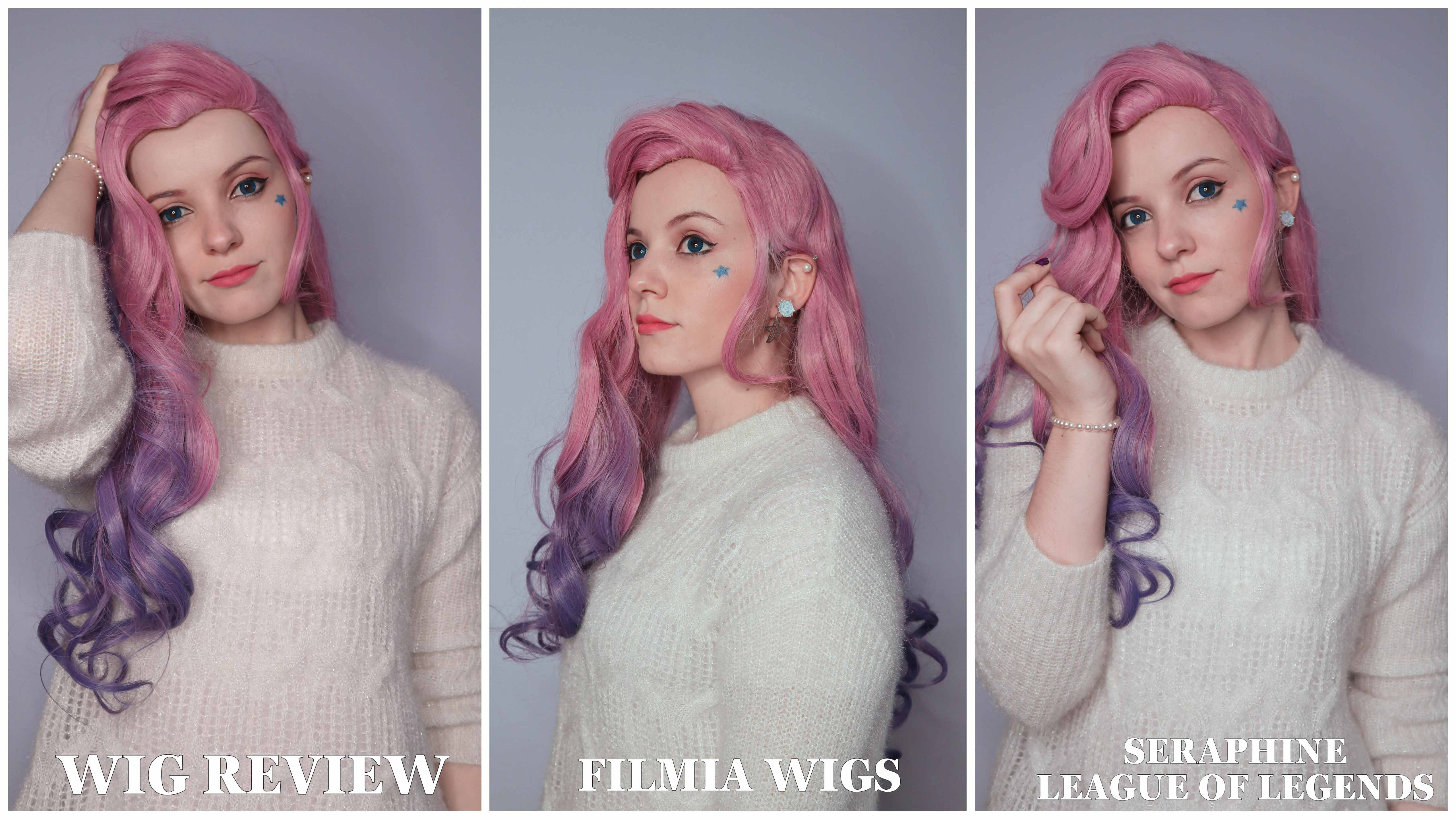Cosplay Wig review: Seraphine