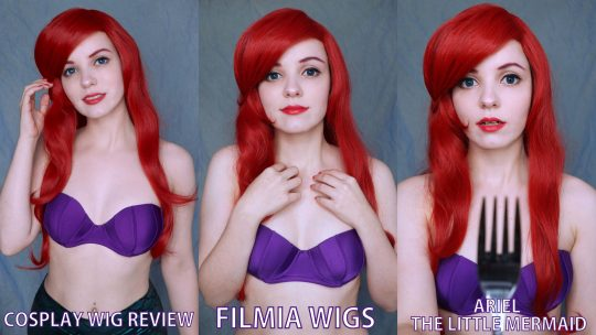 Cosplay Wig review: Ariel (The little Mermaid) from Filmia Wigs