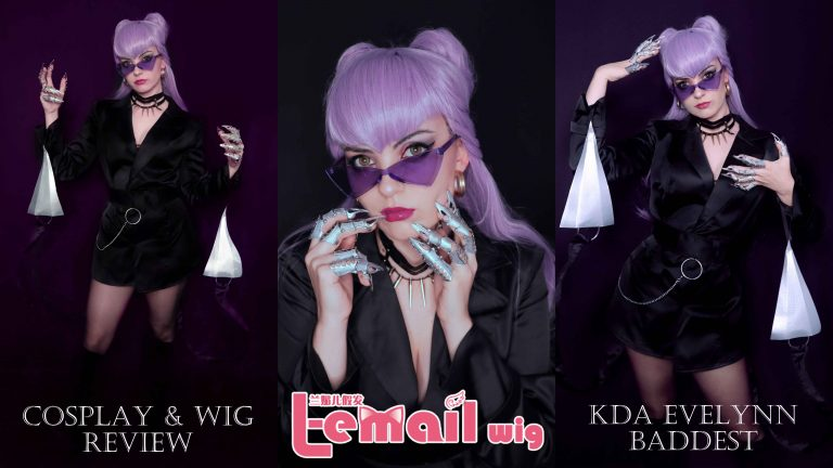 Cosplay & wig review: Evelynn KDA Baddest from L-email Wigs