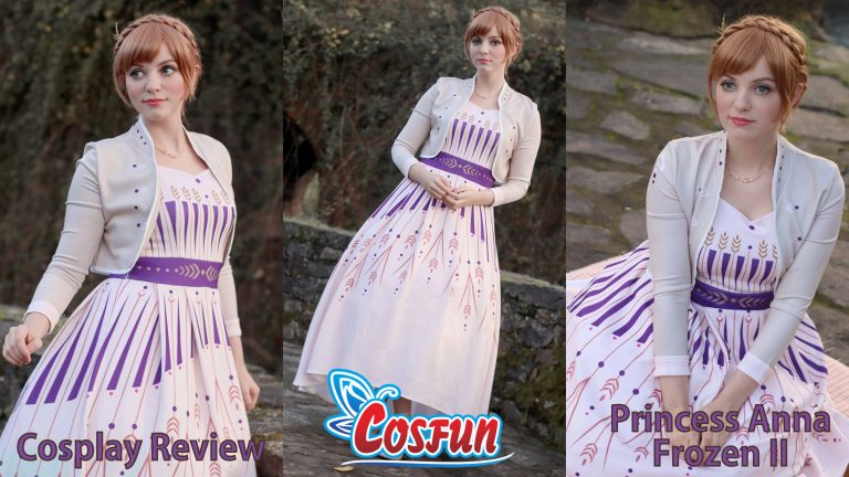 Cosplay Review: Princess Anna (Frozen II) from Cosfun