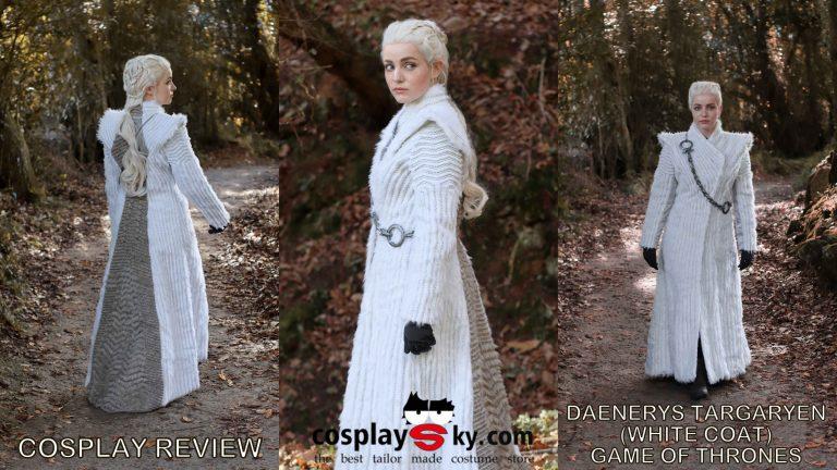 Cosplay review: Daenerys Targaryen (Game of Thrones) White coat from Cosplaysky