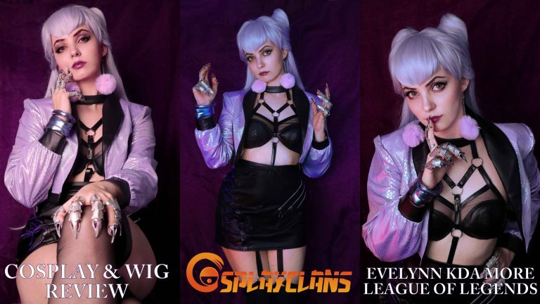 Cosplay & wig review: Evelynn KDA more from Cosplayclans