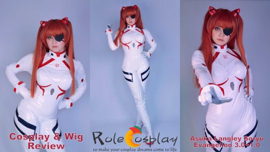 Cosplay & Wig review: Asuka Langley Soryu (Evangelion 3.0+1.0) from Rolecosplay