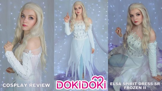Cosplay review: Elsa Spirit SR from Dokidoki Cosplay