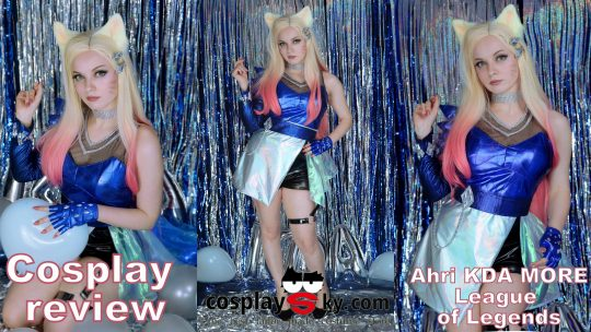Cosplay review: Ahri KDA MORE from CosplaySky