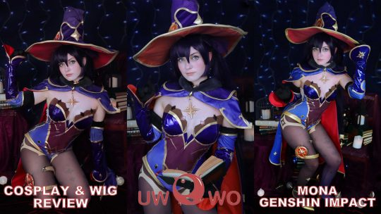Cosplay & Wig review: Mona (Genshin Impact) from UWOWO