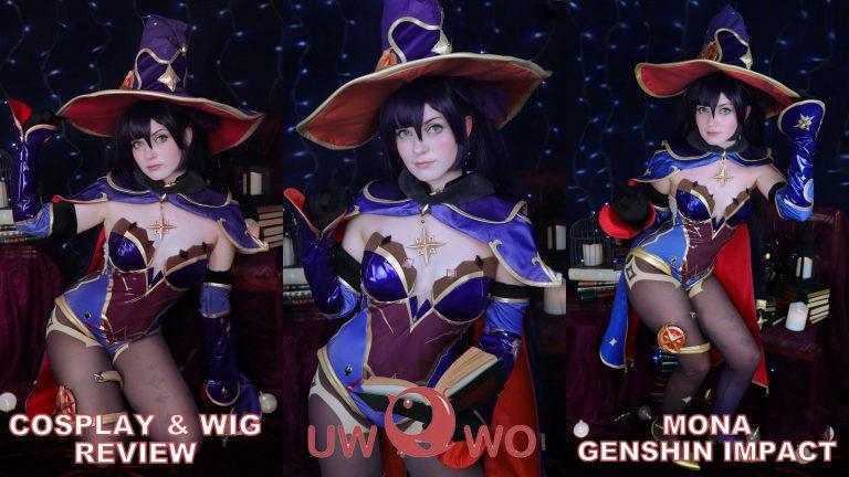 Cosplay & Wig review: Mona (Genshin Impact) from UWOWO