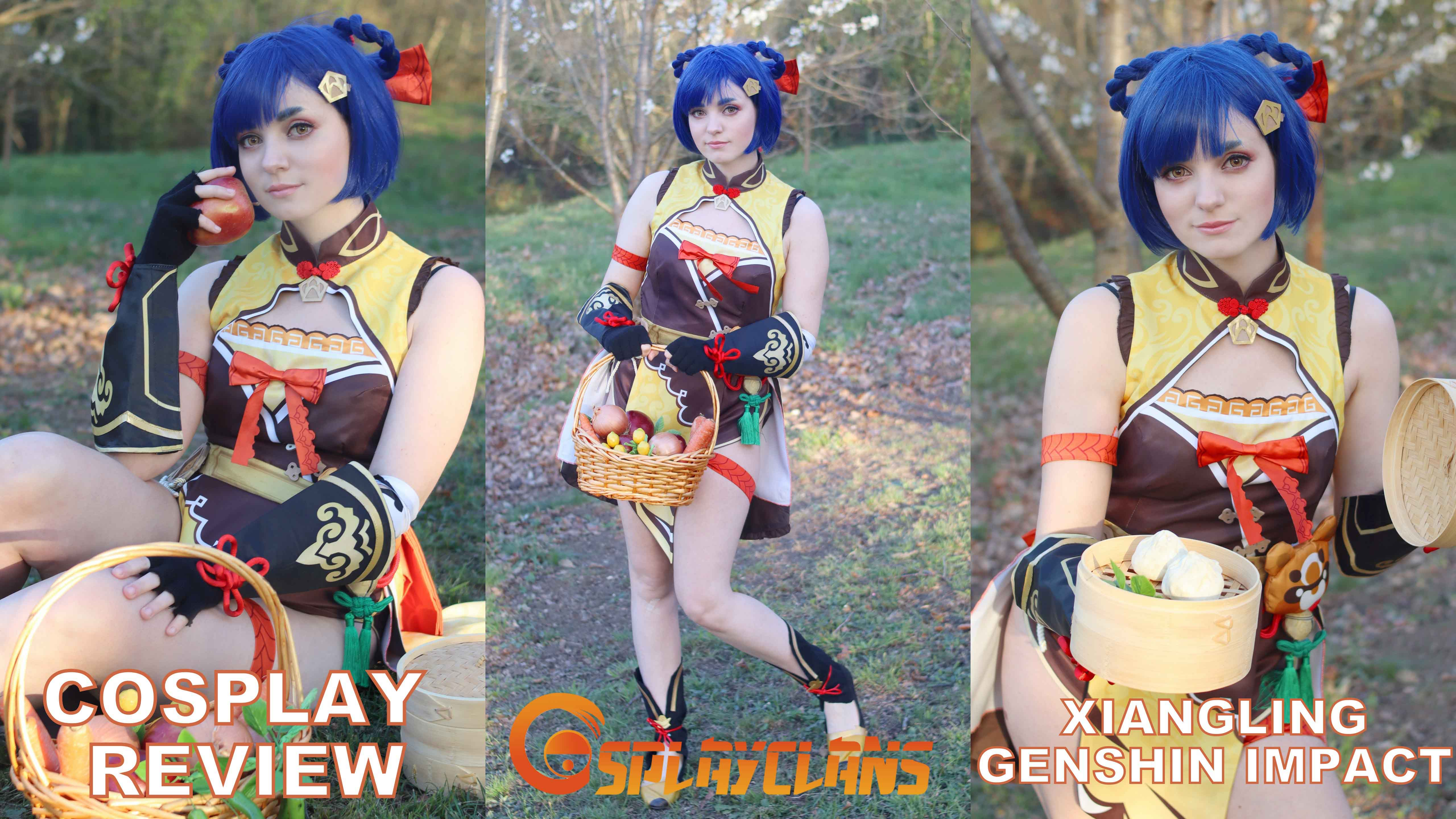 Cosplay review: Xiangling (Genshin Impact) from Cosplayclans