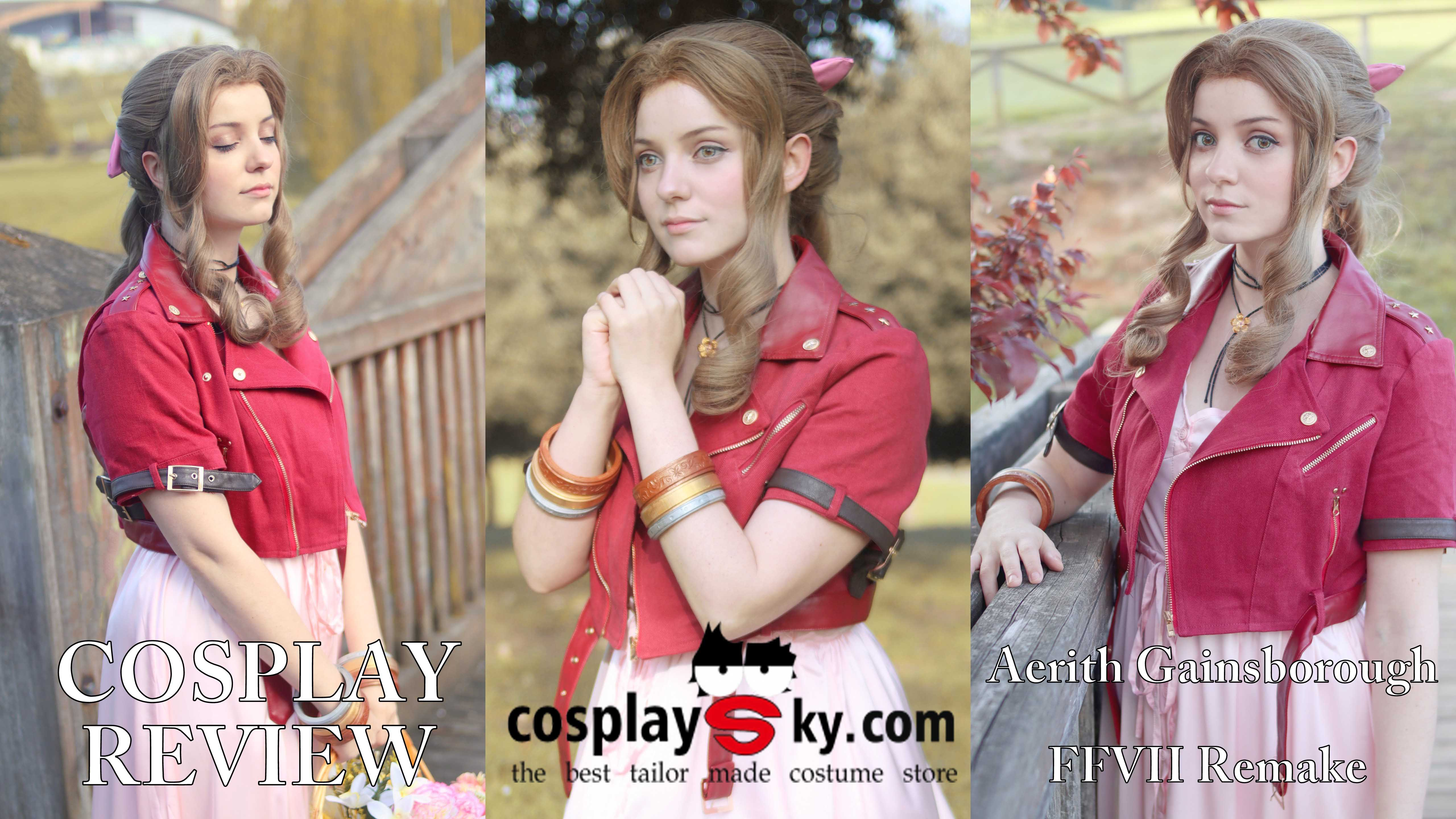 Cosplay Review: Aerith Gainsborough (Final Fantasy VII Remake) from Cosplaysky